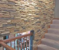 stone wall panels quickly installed faux