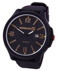 quiksilver beluka silicone watch all black surfstitch all black mens accessories quiksilver watches pqm154bs ablgea