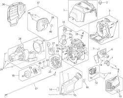 Troy bilt tb635ec 41adz63c766 parts diagram for engine assembly