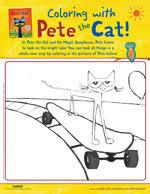 Pete The Cat Activities Petethecatbookscom