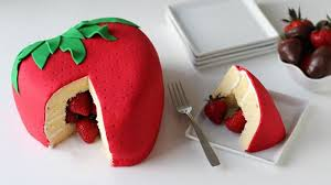 Strawberry Surprise Cake Recipe Tablespooncom