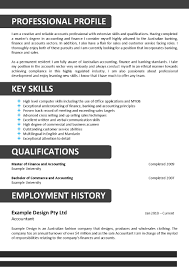 Sample First Job Resume