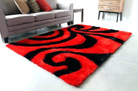red and black area rug red black area rug dark brown and red area red