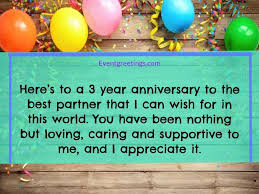 happy 3 year anniversary es