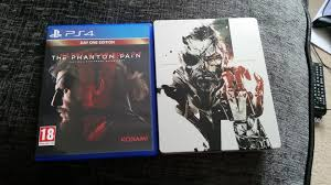 Metal Gear Solid V The Phantom Pain Day One Edition Early Release