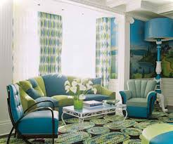 Yellow And Blue Living Room Decor Brilliant Green And Blue Living Room Home Design Ideas