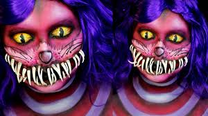 cheshire cat makeup tutorial jordan hanz alice in wonderland you