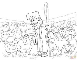 Parables Of Jesus Coloring Pages Printable Coloring Page For Kids