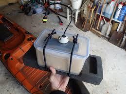 waterproof battery box for kayak fish finder