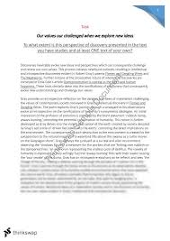 discovery essay our values our challenged when we explore new discovery essay our values our challenged when we explore new ideas