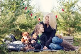 mama and daughter duo tree farm mini session