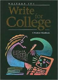 write for college college handbook by patrick sebranek