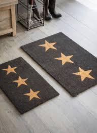 Garden Trading 3 Stars Large Doormat, Charcoal - Coir - Little Red ...
