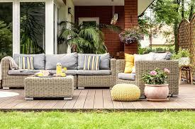garden furniture for the winter