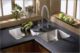 Corner Kitchen Sink Home Decor Undermount Corner Kitchen Sink Tv Feature Wall Design