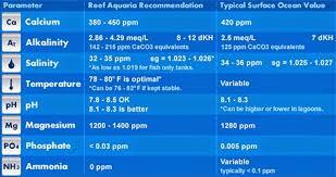 Reef Aquarium Parameters 1000 Aquarium Ideas