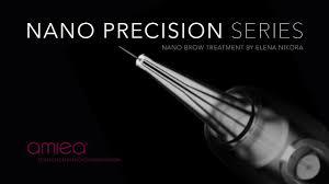 amiea nano precision series nano brow treatment by elena nikora permanent makeup