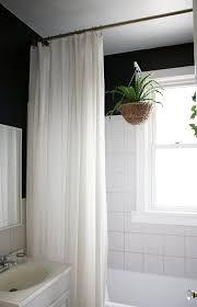 hanging shower curtain from ceiling popular rod 10797 throughout 6 fernandotrujillo com