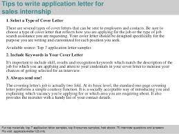 applying for an internship cover letter sales internship application letter