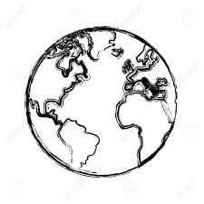 Map Of The World Drawing At Getdrawings Com Free For Personal Use
