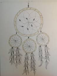 How To Draw Dream Catcher