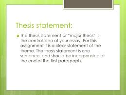 response to literature essay theme analysis ppt video online  7 thesis