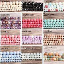 <b>LanLi</b> 56 Styles AAA+ High Quality <b>Natural</b> Stone Beads Agate ...