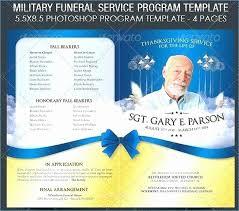 Memorial Pamphlet Template 20 Funeral Service Program Template Lock Resume