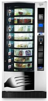 Fresh Food Vending Machines Interesting EVOCA FESTIVAL Fresh Food Vending Machine Business Vending