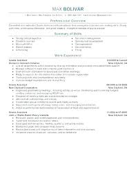 Perfect Job Resume Sample Recent How To Write A Examples Elegant ...