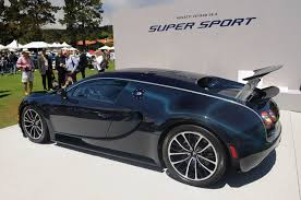 Monterey 2010: Bugatti Veyron 16.4 Super Sport makes North ...