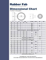 Dimensional Chart Tri Clamp Gaskets Resources Rubber Fab