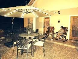 hampton bay cantilever umbrella offset ft solar patio in cafe replacement parts