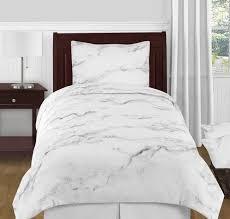 twin xl bedding. Exellent Bedding Grey Black And White Marble 4pc Twin  XL Bedding Set By Sweet Jojo On Xl U