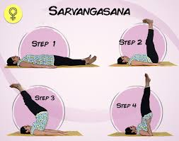 to know more about this asana here sarvangasana