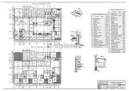 Дипломный проект ПГС х этажная гостиница с рестораном и бассейном 4 План на отметке 7 800 План на отметке 11 400