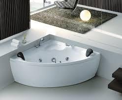 contemporary corner spa bath s sketch bathroom with bathtub