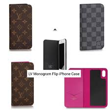 lv monogram leather flip iphone case mobile phones tablets mobile tablet accessories cases sleeves on carou