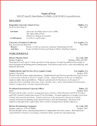 Unique Activities And Interests Resume Example Personal Leave