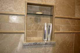 prefab shower niche wall