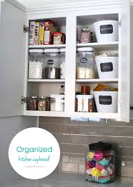 Organized Kitchen Organizing Cupboards 100 Giveaway I Heart Nap Time