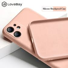 Lovebay <b>Candy Color Silicone</b> Phone Case For iPhone 11 Pro X XR ...