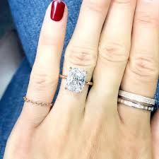 7 real girls with the prettiest engagement rings whowhatwear