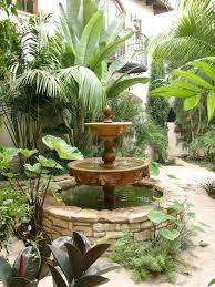Small Picture Spanish Style Home Design Idea Stunning Garden Decor Colombatto