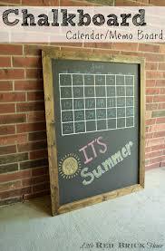 chalkboard calendar memo board feature pic