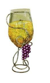 tripar wall metal wine art