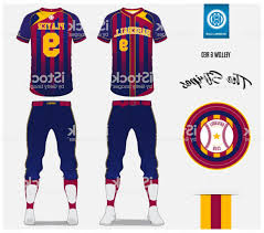 Baseball Design Templates Baseball Jersey Pants And Socks Template Design Red And Blue