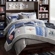 nba comforter sets nba patchwork quilt sham pbteen 2