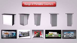 Product Display Stands For Exhibitions Best And HighQuality Portable Counter For Exhibition Stands YouTube 22
