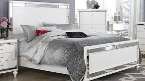 images of white bedroom furniture. Traditional White Bedroom Set In GLITZY WHITE MIRRORED QUEEN BED BEDROOM FURNITURE EBay Images Of Furniture A